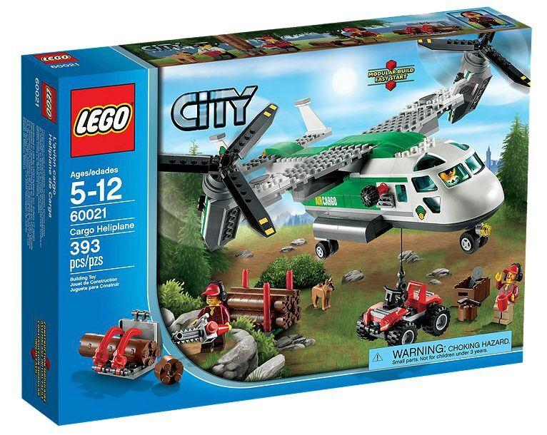 LEGO® City 60021 Schwenkrotorflugzeug NEU OVP_ Cargo Heliplane NEW MISB NRFB