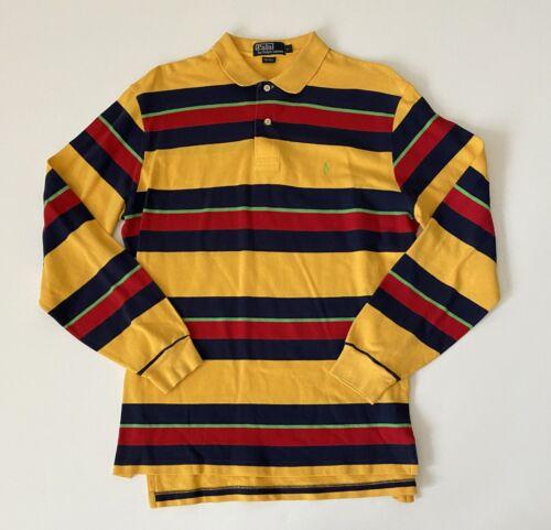 Polo By Ralph Lauren 1980's Men's Polo Shirt Size… - image 1
