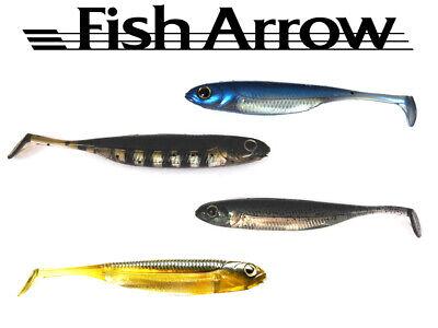 Fish Arrow Flash J 3***Variantenreich einsetzbarer realistischer Gummifisch***Perfekter Barschk/öder***No-Action-Shad