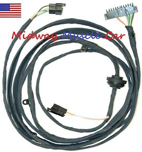 Tremendous Rear Body Intermediate Wiring Harness 70 71 72 Chevy El Camino Gmc Wiring 101 Photwellnesstrialsorg