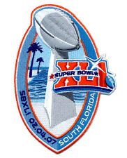 SUPER BOWL 41~  COLTS vs BEARS ~ OFFICIAL SB XLI Willabee & Ward NFL PATCH ONLY