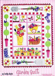 Garden-Quilt-fabulous-pieced-amp-applique-quilt-PATTERN-Amy-Bradley