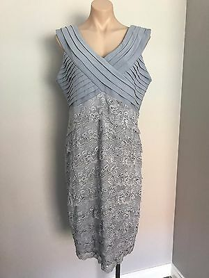 GRACE HILL PALE BLUE LACE DRESS SIZE 18 BNWTS DINNER WEDDING OCCASION COCKTAIL