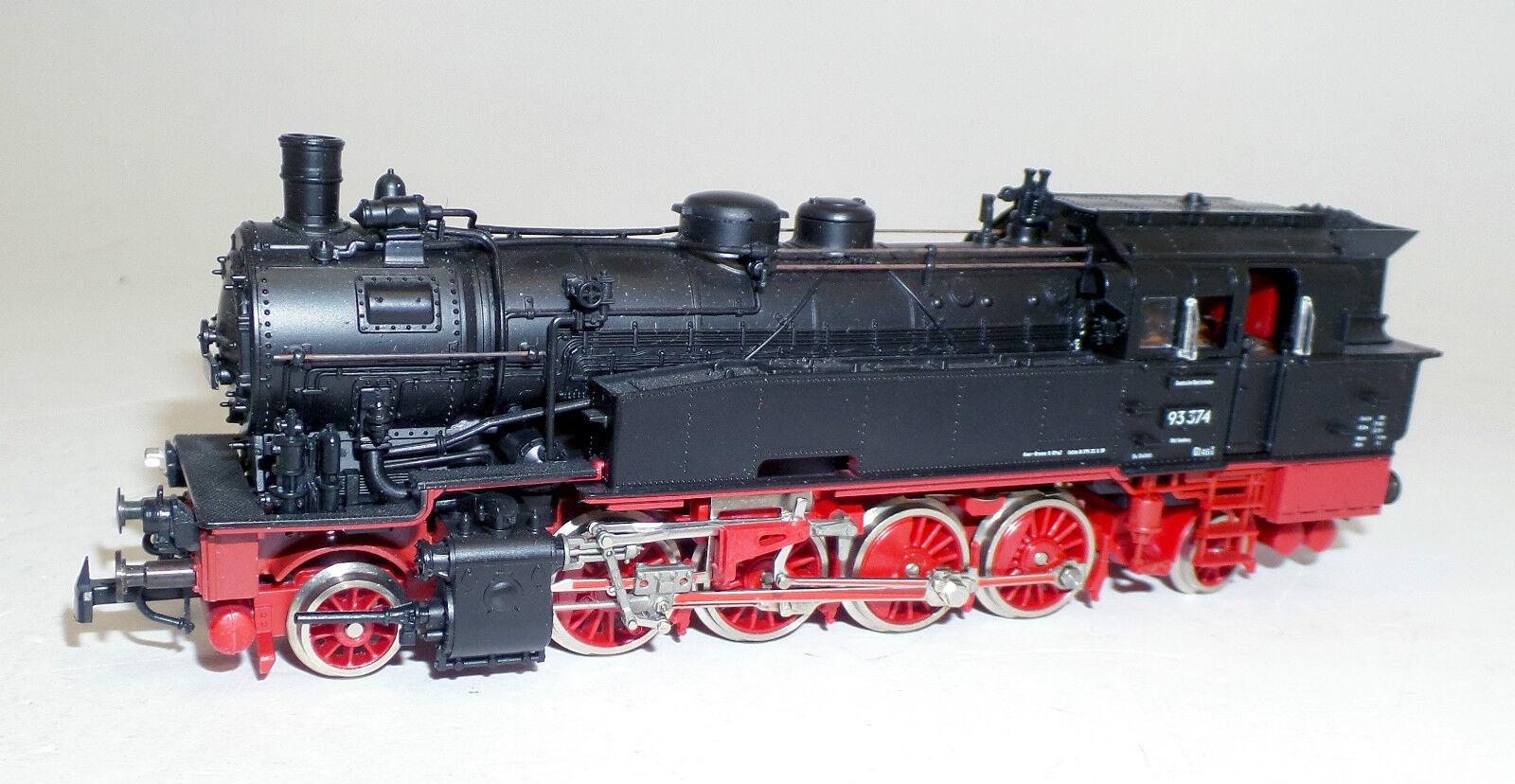 Roco h0 4122a, máquina de vapor br 93 Dr, locomotora 93-374 (w4318) O.