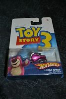2009 Hot Wheels Toy Story Lotso Speed
