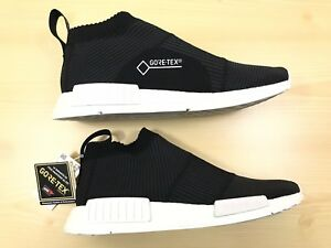 fd0eb2dc6954a New Adidas NMD CS1 Primeknit Gore Tex Black White Size 11 BY9405 ...