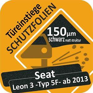 SEAT LEON 3 ST Kombi Ladekantenschutz Lackschutz Transparent 240µm Schutzfolie