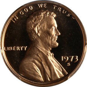 1973-S-Lincoln-Cent-PCGS-PR69RD-DCAM-Outstanding-Frost-STOCK