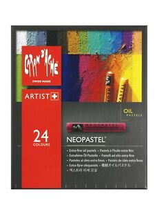 Caran-D-039-ache-Neopastel-Oil-Pastels-Set-Of-24-7400-324