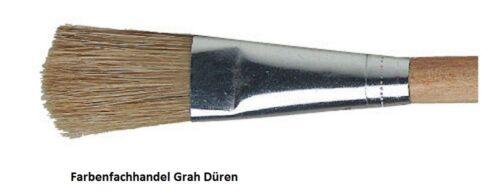 60 Stück Emaillelackpinsel helle Chinaborste Gr 12