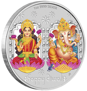 2019-Tuvalu-Diwali-Festival-1oz-9999-Silver-MEDALLION-Previous-Issue-Sold-Out