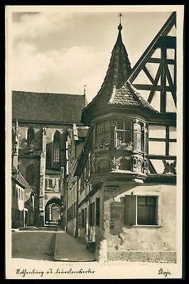 Ak Rothenburg Ob Der Tauber Alte Ansichtskarte Foto-ak Postcard Cx49 Bayern Briefmarken