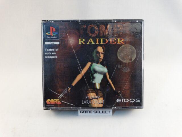TOMB RAIDER I LARA CROFT PRIMA STAMPA BIG BOX PLAYSTATION 1 2 3 PS1 PS2 PS3 PAL