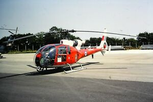 3-607-Westland-SA341-Gazelle-HT3-Royal-Air-Force-ZB625-Kodachrome-SLIDE