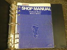 honda marine outboard service manual