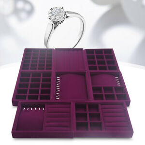Display-Box-Earring-Velvet-Organizer-Ring-Tray-Holder-Show-Jewelry-Case-Storage