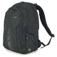"Targus TBB013EU EcoSpruce Backpack for Laptops - 15-15.6 Inches Black 15.6"""