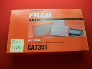 BRAND NEW FRAM AIR FILTER # CA7351 FITS 1992-2004 TOYOTA FITS VARIOUS MODELS NIB