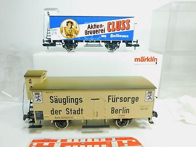 Bo285-3# Märklin Spur 1/ac 5421 Länderbahnwagen-set: Cluss K.w.st.e Etc Neuw+ovp Spezieller Kauf