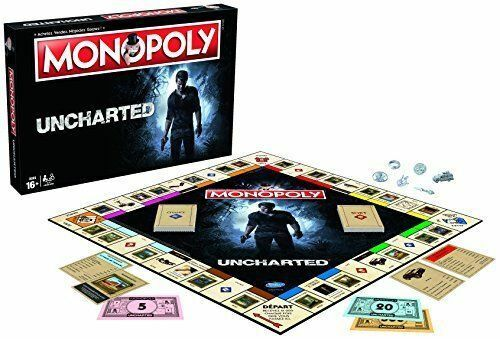 Monopoly - Uncharted Uncharted Uncharted Gioco NUOVO ENG Winning Moves a9435d