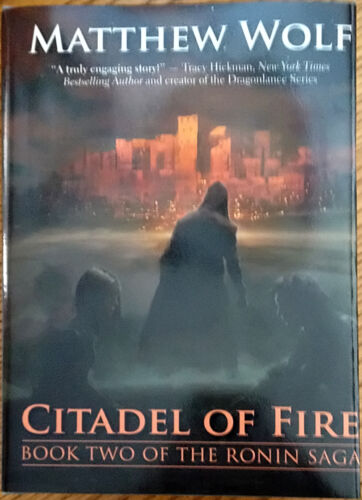 citadel of fire by matthew wolf 2014 hardcover ebay