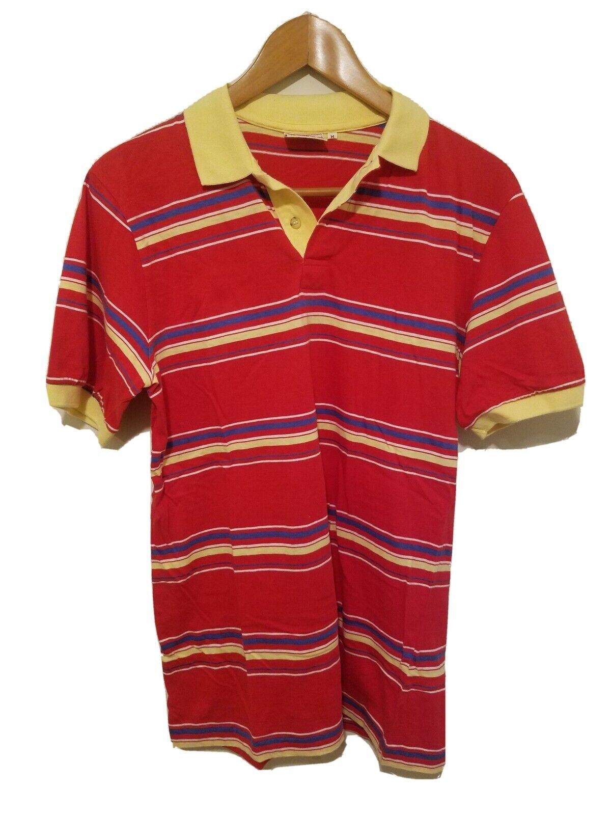 Vintage 1980s Chaps Ralph Lauren Striped Polo Shi… - image 1