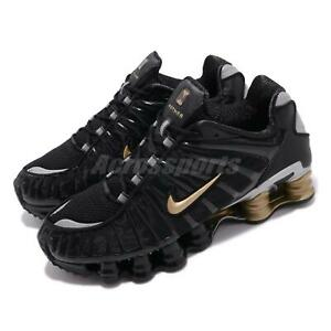 Details about Nike Shox TL Neymar JR. Black Gold Metallic Silver Men Shoes Sneakers BV1388-001