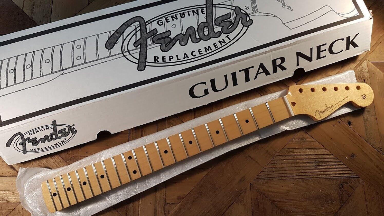 Neu Hals FENDER STRATOCASTER 0991102921 klassisch Player 50er Jahre für Gitarre