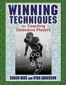 Winning-Techniques-for-Coaching-Defensive-Players-Paperback-by-Anderson-Rya