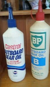 Outboard-Gear-oil-Plastic-Bottles-BP-and-Castrol