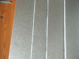 Depron foam MIXED SHEET PACK  6mm 4 pack + 3mm 4 pack 400mm x 250mm Grey