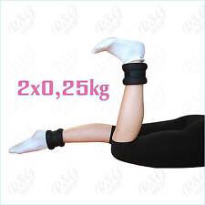 Pastorelli Gewichtsmanschetten 2x0,25kg Hand u. Fuß Gymnastik, Fitness Paar