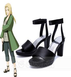 Naruto Cosplay shoes NARUTO Akatsuki ninja costume shoes boots size M 24.5 ~ 25.5cm japan import