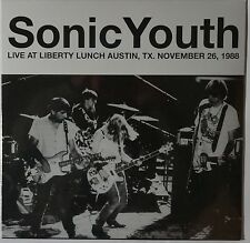 Sonic Youth - Live at Liberty Lunch Austin, TX 1988 LP limited vinyl NEU/SEALED