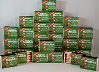 Waterproof Matches-30 Boxes Of 40+ Over 1200 Matches-cannot Light Accidentally