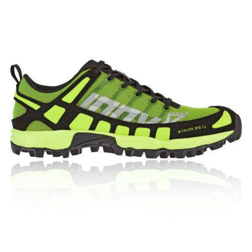Inov8 Kinder X-Talon Classic Traillauf Laufschuhe Sneakers Wandern Schwarz Grün