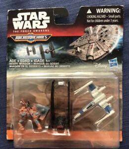 Star Wars The Force Awakens Micro Machines 3-Pack Speeder Chase