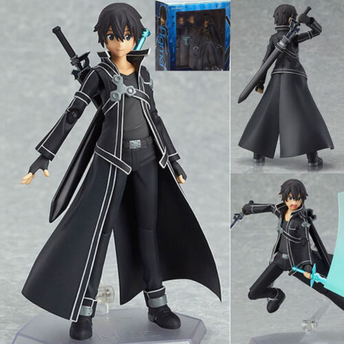 Sword Art Online Asuna Kirito 2pcs PVC Action Figure New in Box Figma