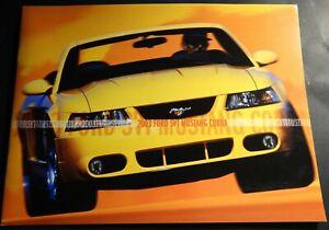 2001 Ford SVT Mustang Cobra 16-page Original Car Sales Brochure Catalog