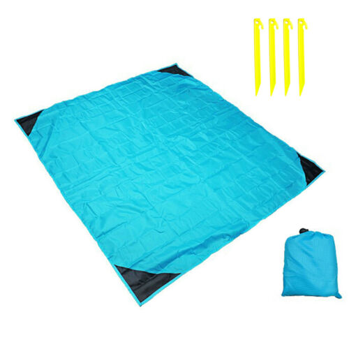 Pocket Blanket Mini Waterproof Picnic Camping Hiking Mat for Outdoor Activities
