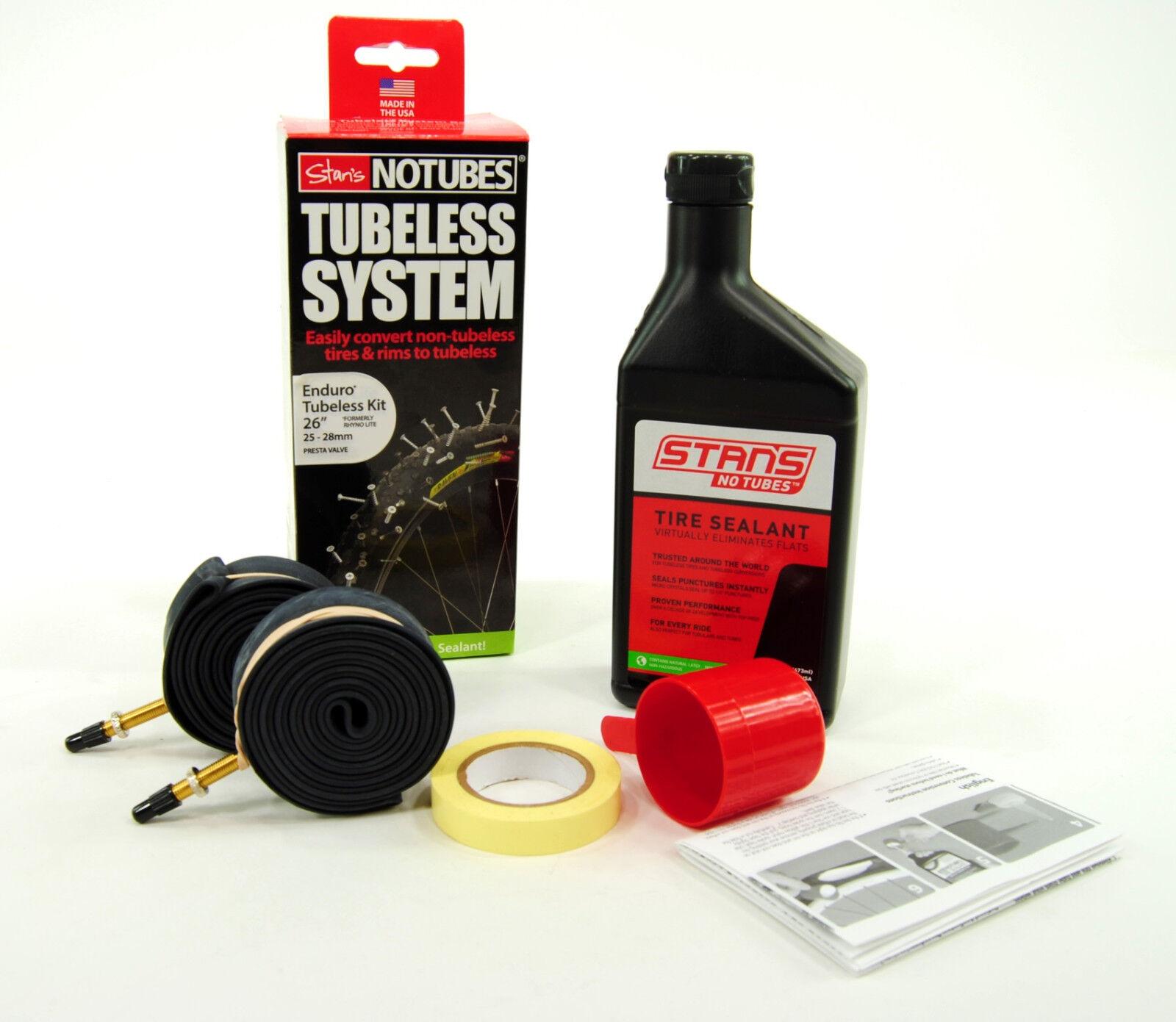 Stan's Notubes Tubeless Enduro Tubeless Notubes kit de sistema 4503a4