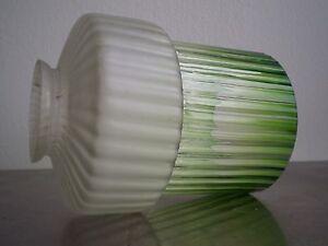 TULIPE-D-APPLIQUE-ART-DECO-1930-LAMPE-LUMINAIRE-LUSTRE-ANCIENNE-VERRE-COLORE