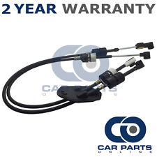 FORD TRANSIT MK7 2006 On 2.2 FWD 5 SPEED GEARBOX DIESEL GEAR SELECTOR CABLE SET