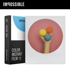 Gen 2.0 Impossible Project Color Instant Film ROUND FRAMES Polaroid 600 Onestep