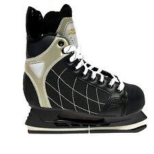 Roces RH 3  Eishockey Schlittschuhe - Senior Freizeit schwarz Iceskate Gr. 38
