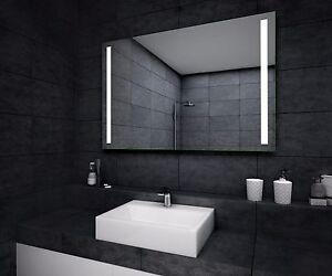 eco badspiegel nach ma mit led beleuchtung wandspiegel zu badezimmer nach ma ebay. Black Bedroom Furniture Sets. Home Design Ideas