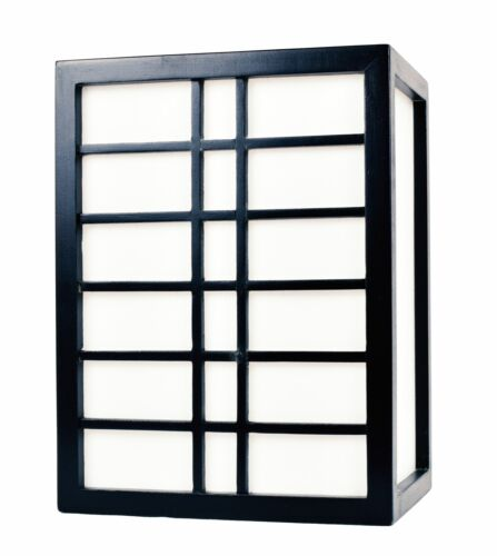 show original title Details about  /Japanese Asian Lamp Wall Lamp Wall Light Wood Rice Paper e27 18 compartments