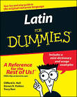 Latin for Dummies by Clfford A. Hull, Steven R. Perkins, Tracey Barr, Tracy L. Barr (Paperback, 2002)