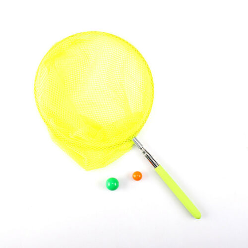 TELESCOPIC BUTTERFLY NET FISH CATCHING BUGS INSECT EXTENDABLE 34 INCH CATCHER