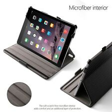 Poetic Strapback Carbon Fiber Black Case For iPad Air / New iPad 9.7 2017